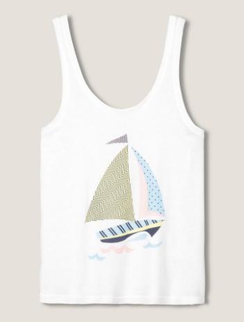 tee shirt bateau