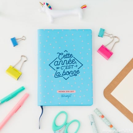 mr wonderful agenda rentrée