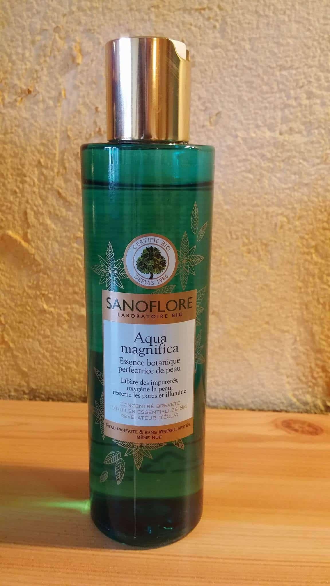 aqua magnifica sanoflore test produit