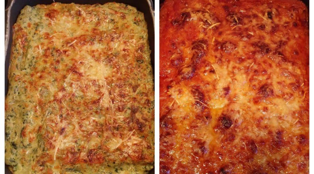recette cannellonis ricotta épinard chair à saucisse tomate maison