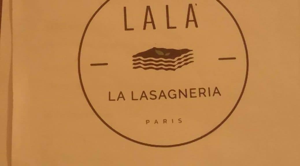 làlà la lasagneria paris