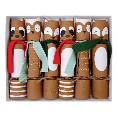 crackers noel animaux cadeaux enfant