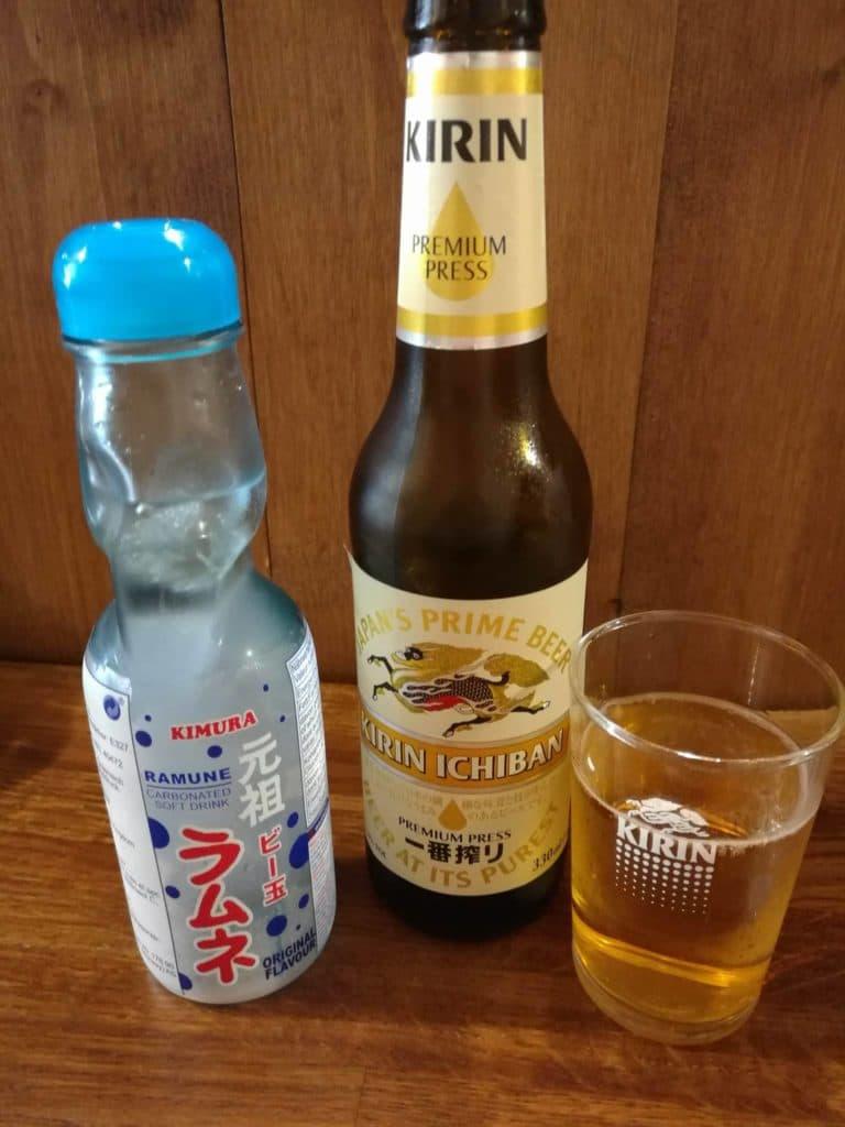 limonade japonaise ramune shin ya ramen