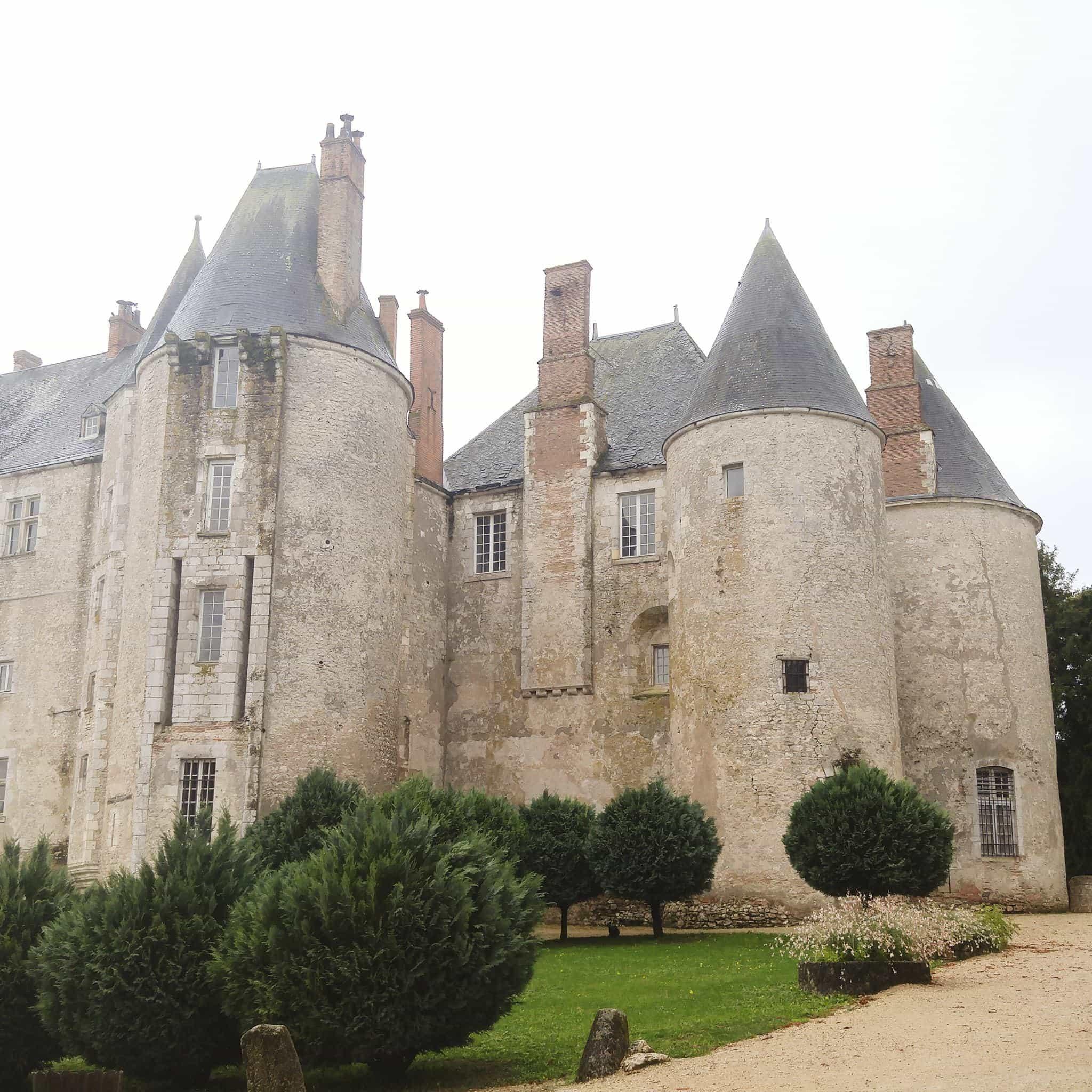 château de de la Loire Meung sur Loire
