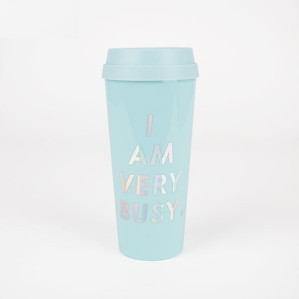 mug thermos I am very busy rentrée ban do my little party