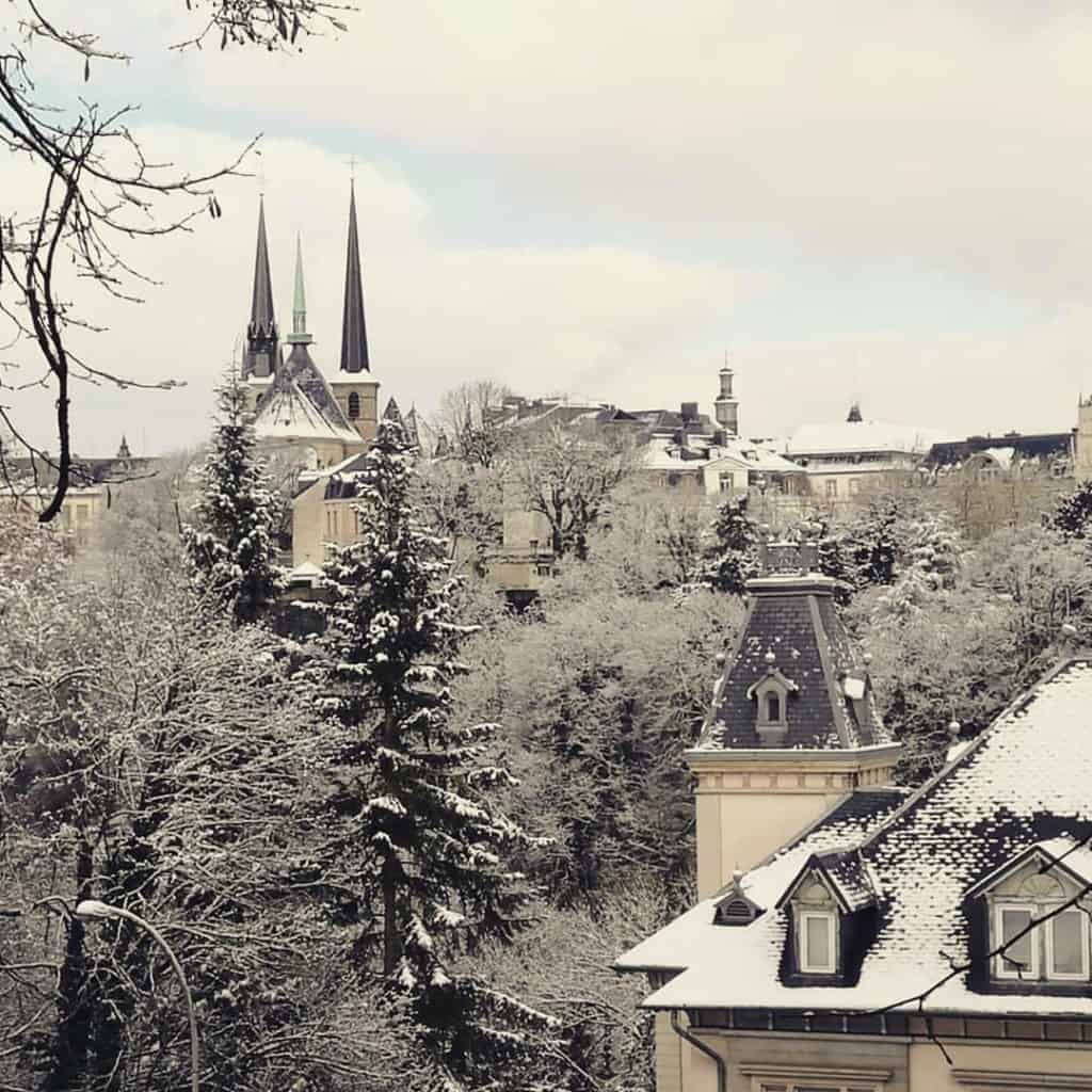 luxembourg neige visite tourisme week end