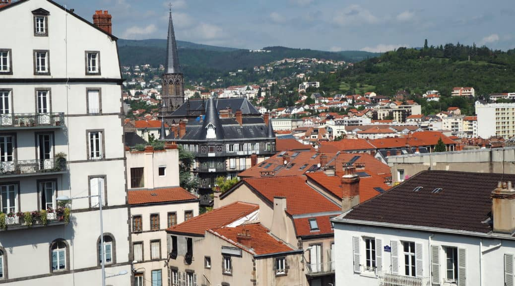clermont ferrand week end vue
