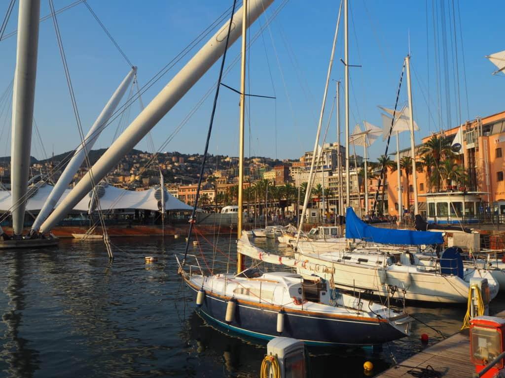 Porto Antico Gênes