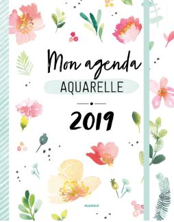 agenda aquarelle tribulations de marie