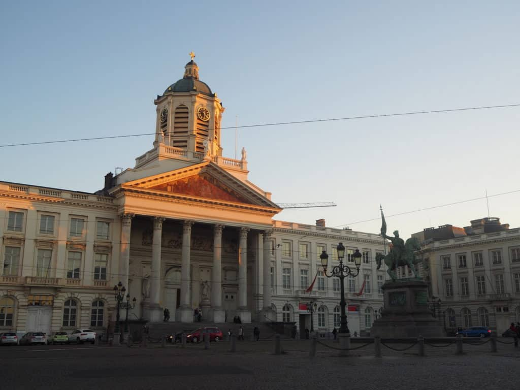 Place royale bruxelles