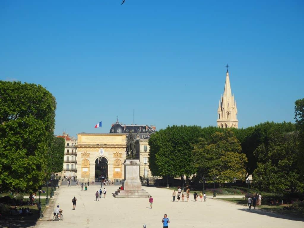 place royale peyrou montpellier